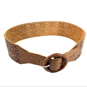 Hollister leather belt